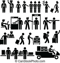 機場, 工人, 安全
