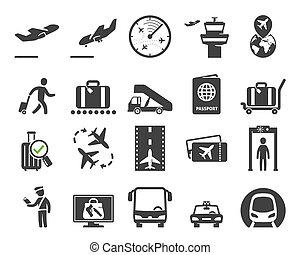 機場, 集合, 圖象