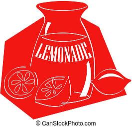 檸檬水, 藝術, 夾子