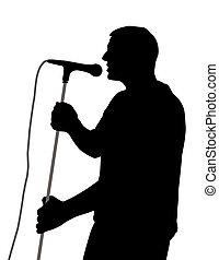 歌手, 男性