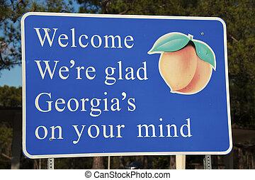 歡迎, 佐治亞