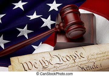 正義, 美國人, 平靜的生活