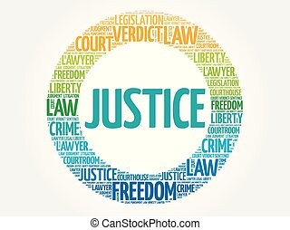正義, 詞, 雲