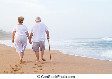 步行, 扣留手的夫婦