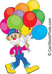 气球, 小丑
