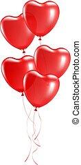 气球, 心形狀