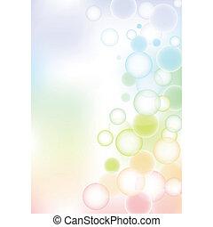氣泡, 背景