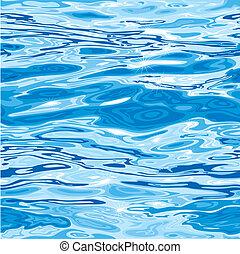 水模式, seamless, 表面