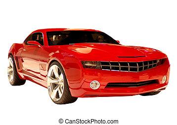 汽車, 概念, 肌肉