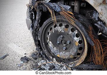 汽車, 燃燒
