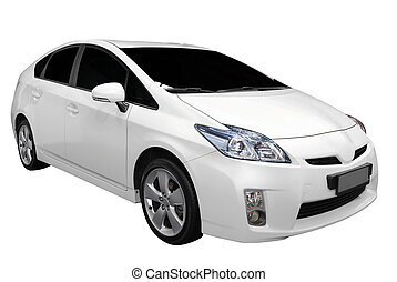汽車, 白色, 雜種