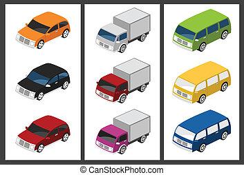 汽車, 等量, 集合
