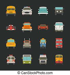 汽車, 運輸, 圖象