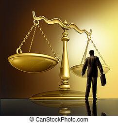 法律, 律師