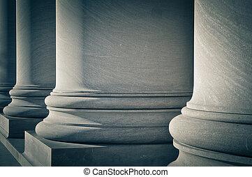 法律, 柱子, 教育, 政府