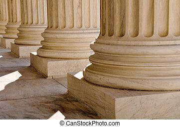 法律, cour, 資訊, 國家, 柱子, 最高, 團結