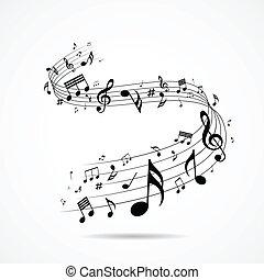 注釋, 設計, 音樂, 被隔离