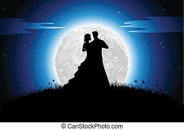 浪漫史, 夜晚