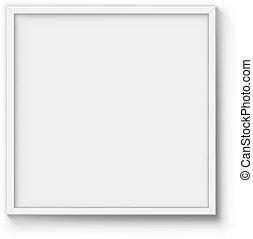 海報, 框架, 空白