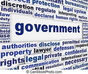 海報, 概念, 政府