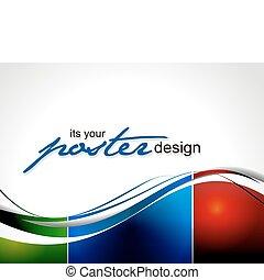 海報, 設計