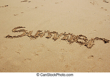海灘, 夏天