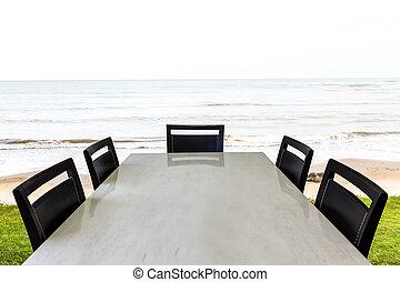 海灘, 房間, 會議, 熱帶