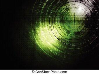 深綠, 技術, 背景
