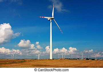 渦輪, 可選擇 能源, 風