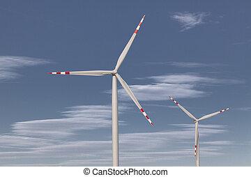 渦輪, 風, 來源, 可選擇 能源