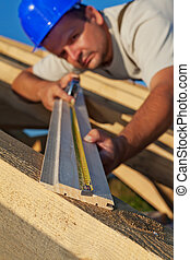 測量, 建造者, 木頭, 木匠, planck