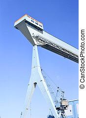 港口, 起重機
