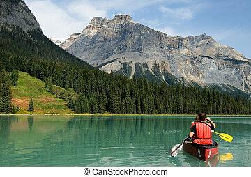 湖, 綠寶石