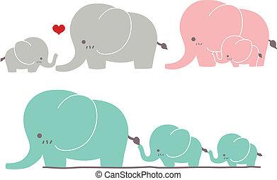 漂亮, 大象