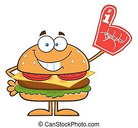 漢堡包, 微笑