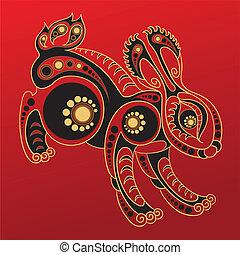 漢語, horoscope., 兔子, 年