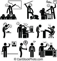 濫用, 雇員, 憤怒, 老板