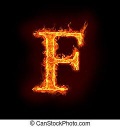 火, 字母表, f