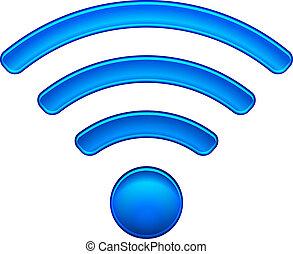 無線, 符號, wifi, 网絡, 圖象