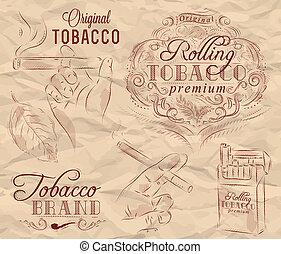 煙草抽煙, 彙整