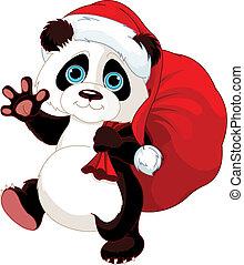 熊貓, 充分, 大袋, 禮物
