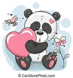 熊貓, 心