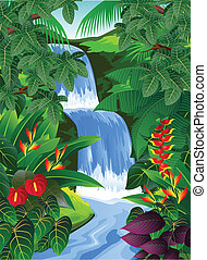 熱帶的森林, 背景