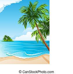 熱帶的風景