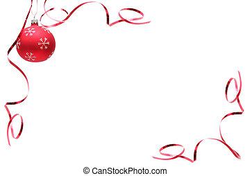 燈泡, 聖誕節, 紅色