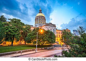 狀態, 佐治亞, 州議會大廈