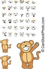 猴子, 卡通, set03