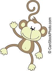 猴子, 愉快