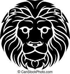 獅子, 簽署, 黃道帶, leo, 占星術