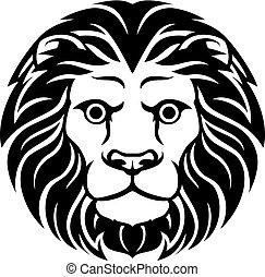 獅子, 簽署, 黃道帶, leo, 星象